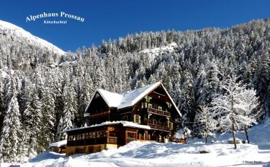 Restaurant Alpenhaus Prossau im Kötschachtal in Bad Gastein, Gasteinertal Im Winter